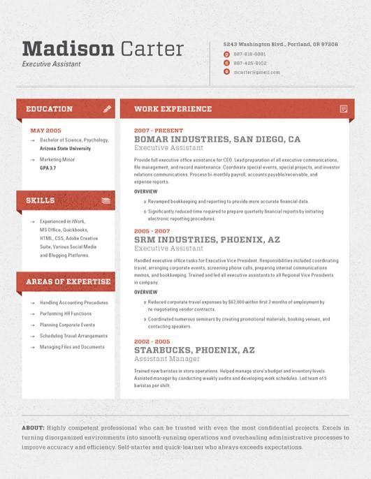 Best 25+ College resume template ideas on Pinterest Office - unique resume templates