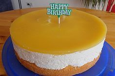 Passion fruit – cheese – cream – cake 21   – Torten