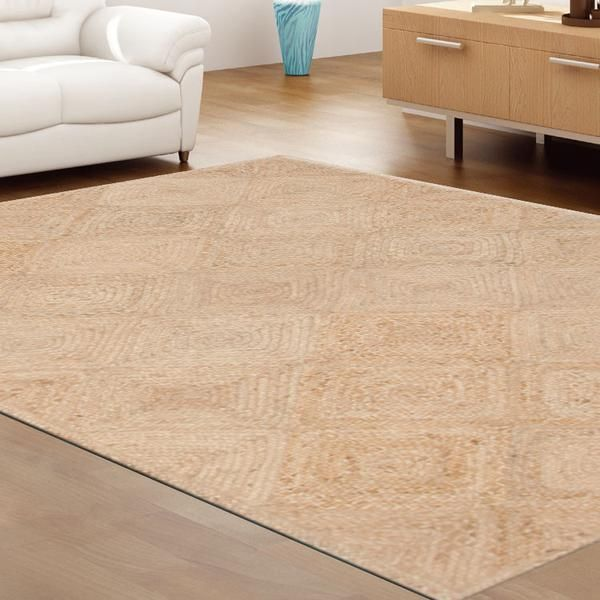 JUTE MILD DIAMOND DESIGN RUGS