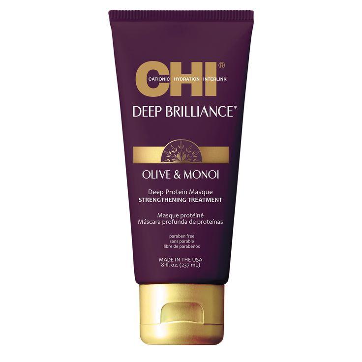 CHI Deep Brilliance Olive & Monoi Strengthening Treatment 237ml.