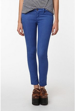 Sodalite Blue Colored Jeans