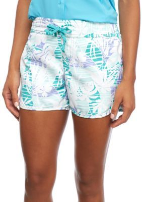 Columbia Miami Palm Print Cool Coast II Short