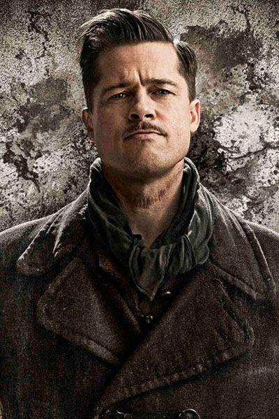 Brad Pitt. Inglorious basterds.