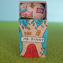 Mr. Bunny's Matchbox. Free printable
