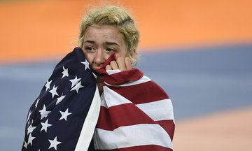 Helen Maroulis Beats A Legend To Win First U.S. Gold In Women's Wrestling