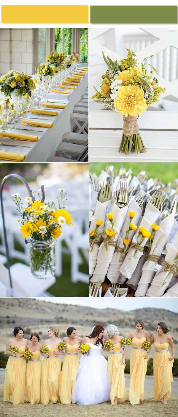 Yellow Wedding Color Ideas Inspired by 2017 Golden Globe Red Carpet