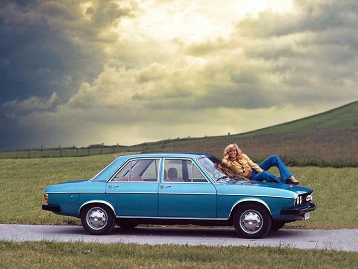 a Audi 100 C1 Model II-1973-1976
