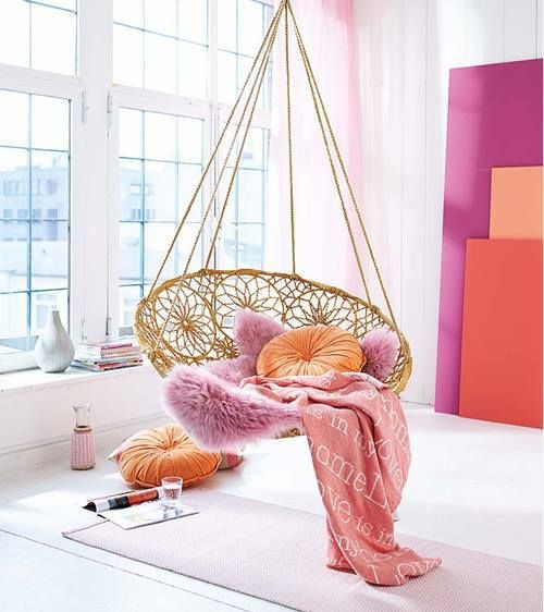 Muebles de jardín con efecto relax hamacas, columpios, mecedoras 1