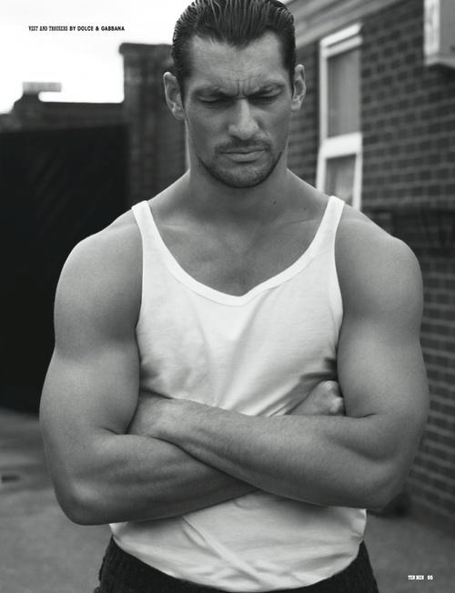 10 Men Magazine  Photographer: Paul Wetherell  Model: David Gandy
