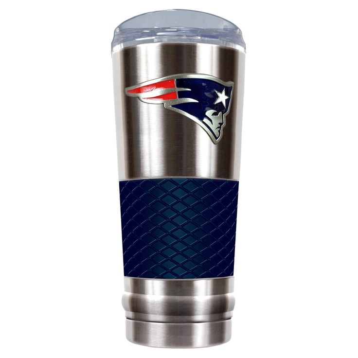 NFL New England Patriots NFL Draft 24oz Vacuum Insulated Tumbler