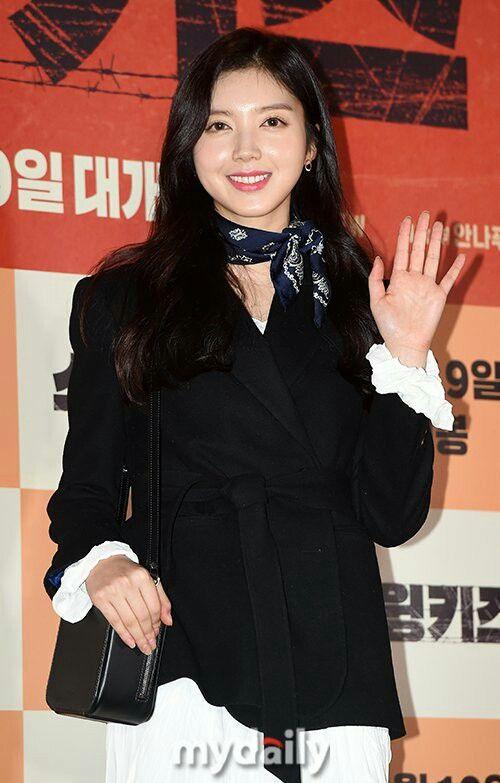 Chae Seo Jin on Swing Kids VIP Premier  | Korean Drama and