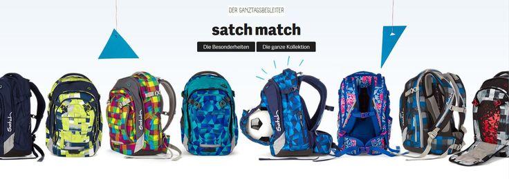 satch match Schulrucksack, die Kollektion 2015