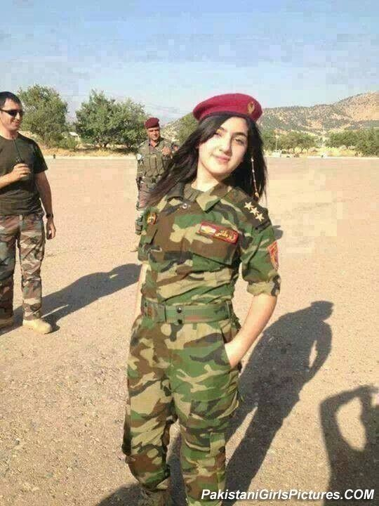 Post: She is not Pakistani its afghani Girls in Pakistan Army   Pakistan Army Girl Pakistan Army Girl
