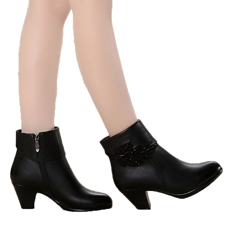 Chicside Women's Pointed Toe Ankle Boots * To view further for this item, visit the image link.