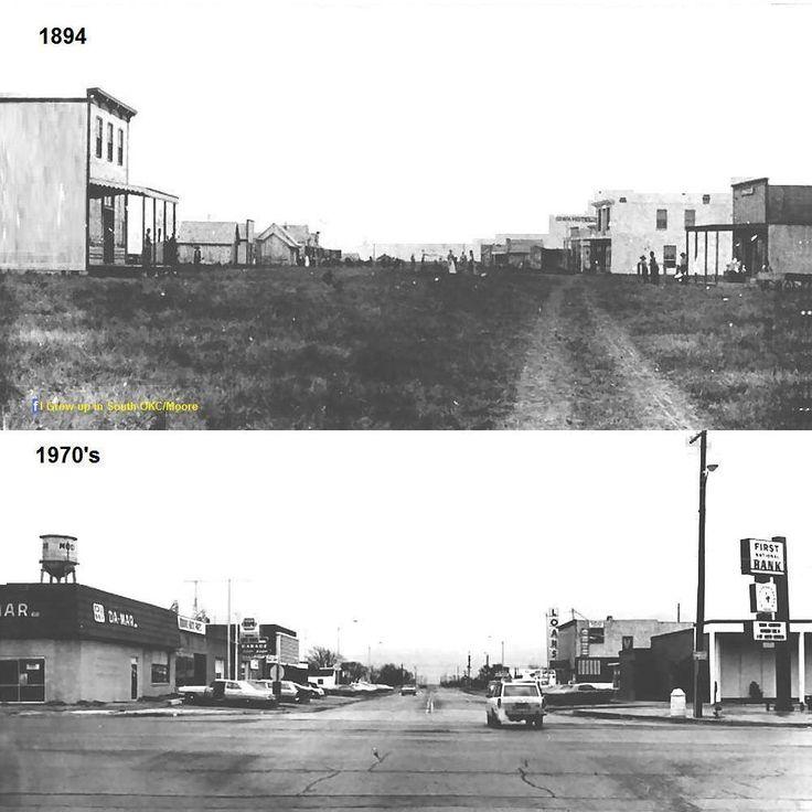 Main Street, Moore Oklahoma. Main StreetOklahomaHigh SchoolsNostalgiaHigh  School
