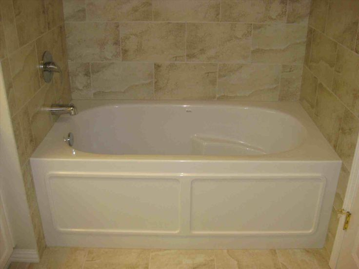 This acrylic tub with tile surround -   - Visit entermp3.info