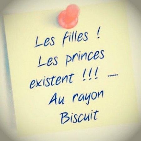 Les princes existent !!! -- Au rayon Biscuit