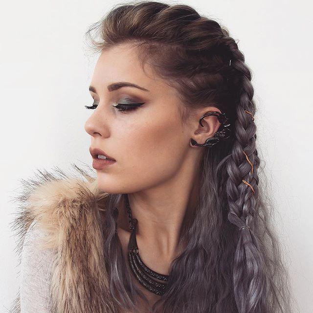116 Best Viking Braids Images On Pinterest