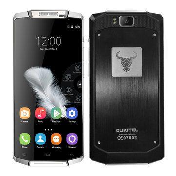 OUKITEL K10000 10000mAh Battery 5.5-inch MT6735p 1.0GHz Quad-core Smartphone Sale - Banggood.com