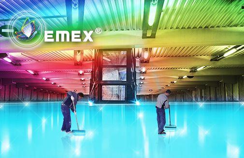 Epoxy floorings application
