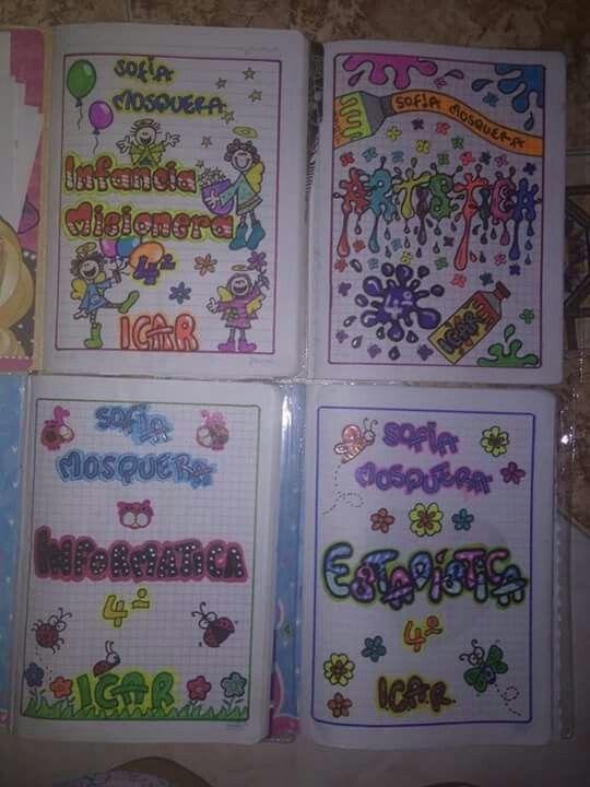 Cuadernos de sofi