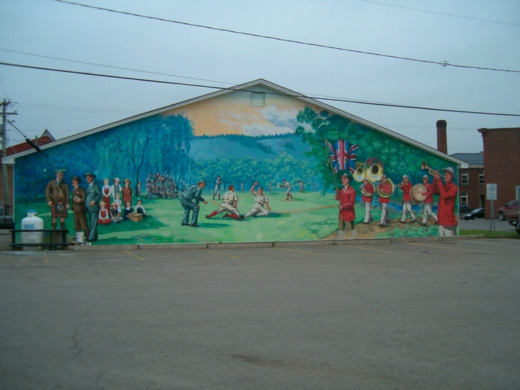 Another of our nicely done murals in Sussex.