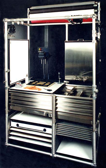 So freaking dreamy.   A Portable Darkroom/studio: Just Add Water.