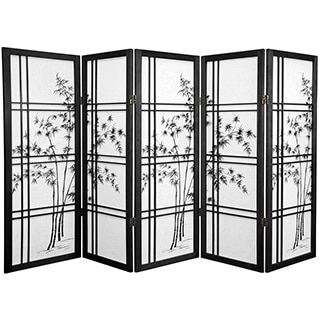 Japanese 4-Panel Screen Room Divider, Plum Blossom | Overstock.com Shopping - The Best Deals on Decorative Screens