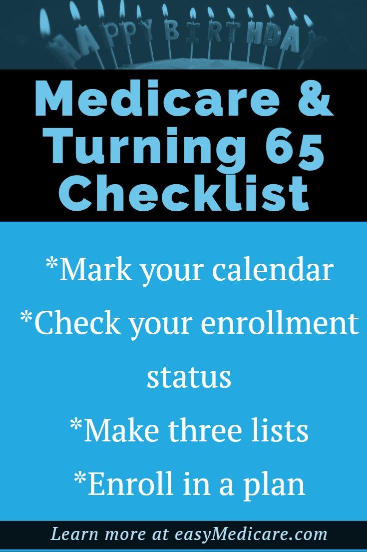Checklist For Turning 65 Retirement Advice Retirement Strategies Retirement Planning Finance