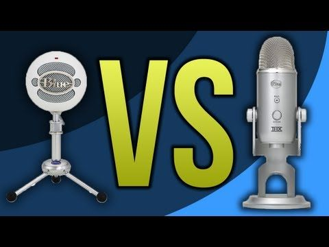 Blue Snowball VS Blue Yeti Microphone (Review / Comparison) - YouTube