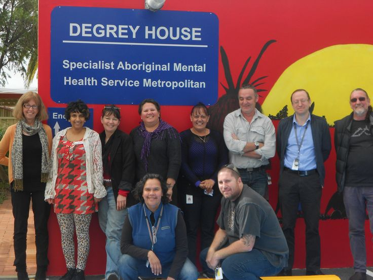 Myra (2nd Left) flew all the way down under for her placement in Graylands Psychiatric Hospital in Perth, Austrailia