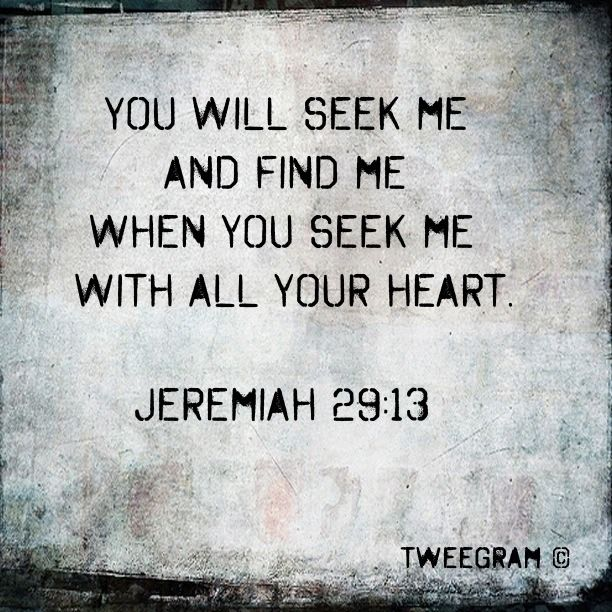 Look for Him every daySeek God, The Universe, Favorite Verses, Living Memories, Bible Verses