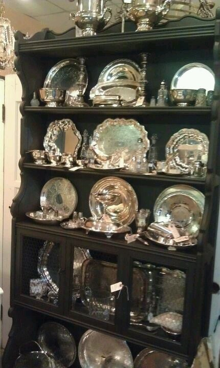 25 Best Ideas About Silver Trays On Pinterest Silver