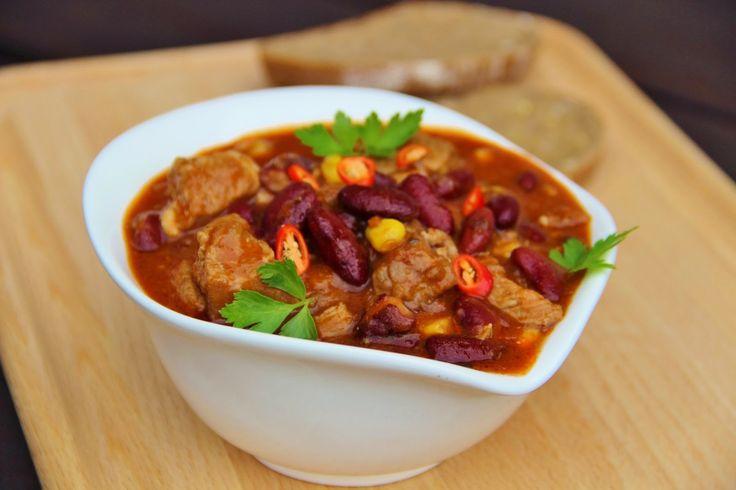 V kuchyni vždy otevřeno ...: Vepřové chilli