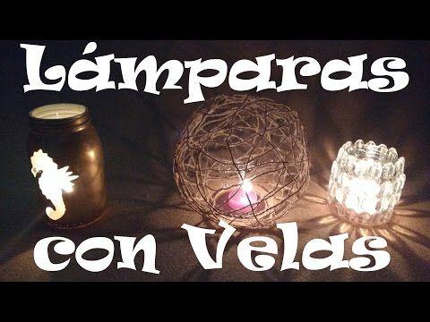 Velas con Aroma DIY - YouTube
