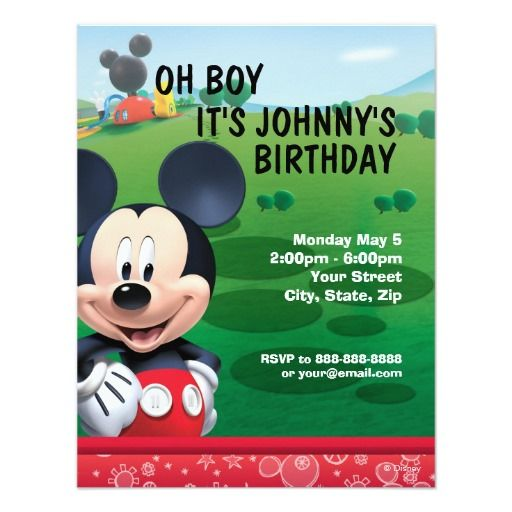 483 best Disney Birthday Invitations images on Pinterest