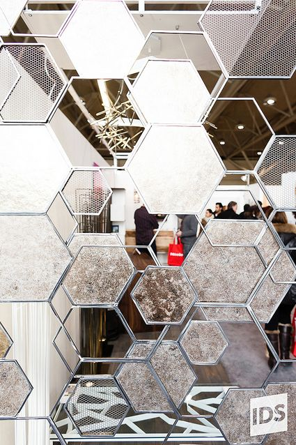 Hex Screen from IDS13, image from https://www.flickr.com/photos/interior_design_show_toronto/8550966839/ #IDS13