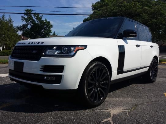 2015 Land Rover Range Rover Supercharged Black Limited Edition 1 Of 300 Made Fuji White With