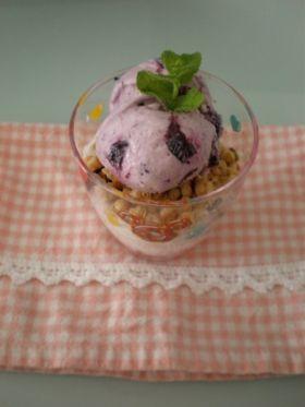 「ブルーベリーフローズンヨーグルト」kim | お菓子・パンのレシピや作り方【corecle*コレクル】