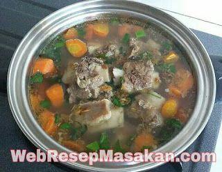 Resep Sop Iga Sapi Bening Spesial Enak Resep Resep Masakan Resep Daging
