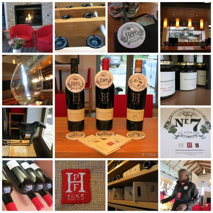 Wine Tasting at Hermanuspietersfontein Wines  Hemel-En-Aarde Craft Village,  Hermanus Tel: +27 28 316 1875 Email: social@hpf1855.co.za