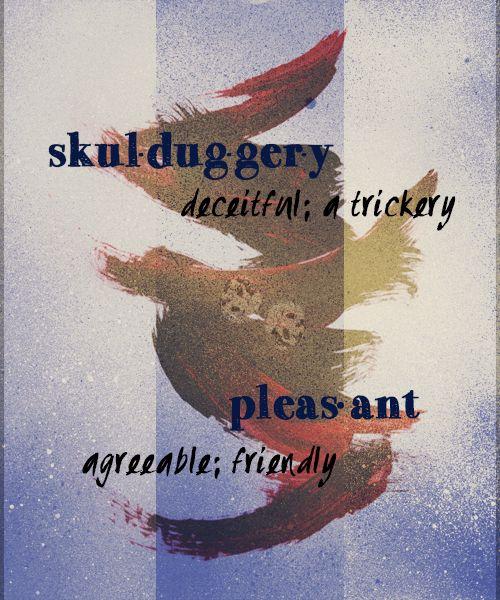 skulduggery pleasant name meanings.