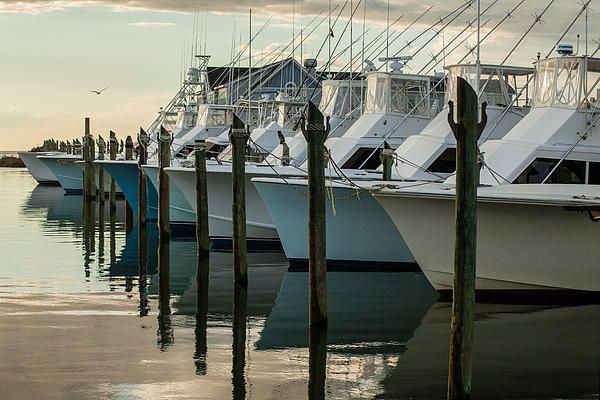 """Photograph by Dave Ross Photography titled """"Summer Evening"""", available for sale at Save the Cape's Online Gallery. #boats #marina #water"""