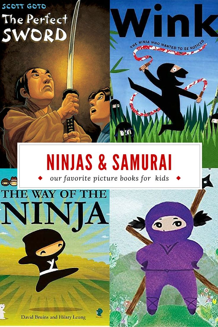 The Best Children's Books About Ninjas and Samurai | Planet Jinxatron