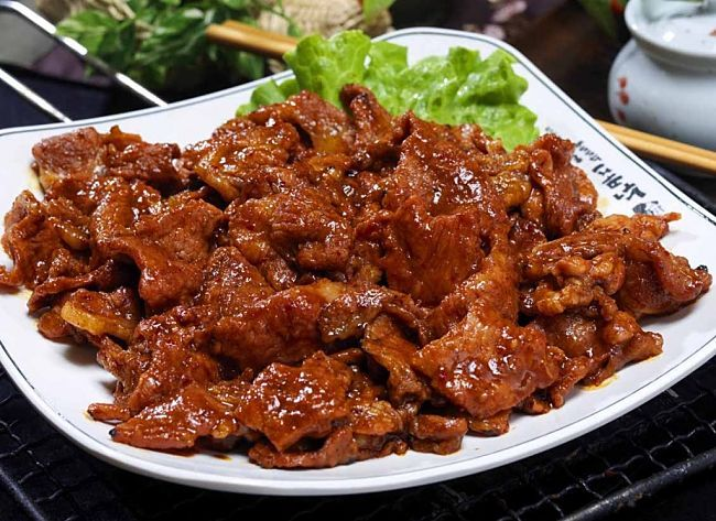 Beef - Korean barbecue style