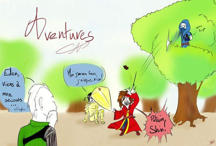 (Aventures) S02, ep14 - Shin dans son arbre by BlacksWolf