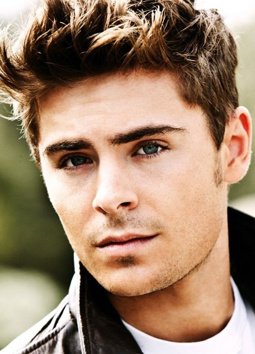 Zac... wow, he grew up well! I think it's the blue eyes and brown hair that get me every time! yum