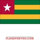4' x 6' Togo High Wind, US Made Flag