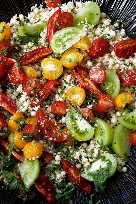 Déclaration d'amour à la tomate en 8 recettes. #Recettes