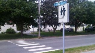 Can Zebra Lines Help Stop Pedestrian Accidents? | Crosswalk Safety